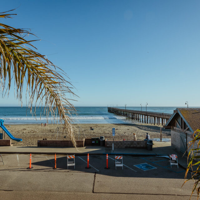 Room 203 balcony and pier view