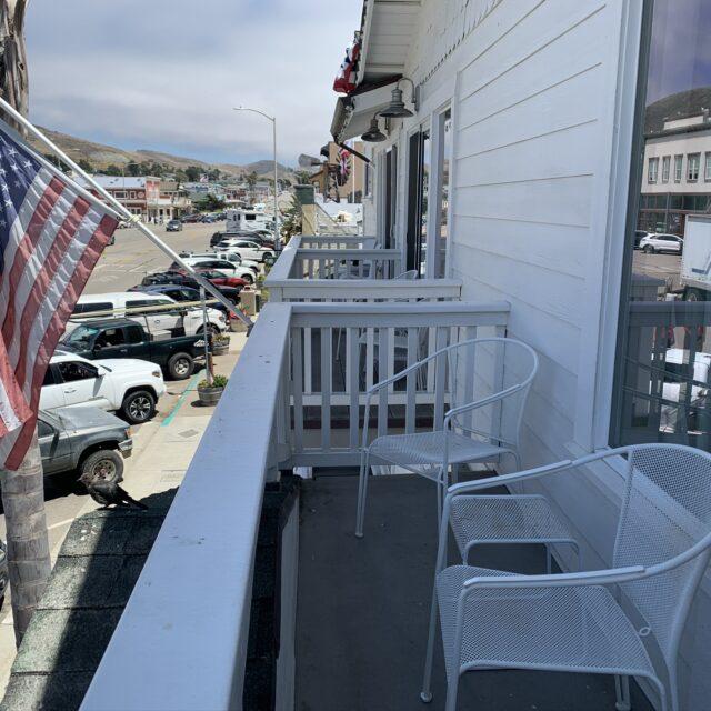 Room 205 Balcony view