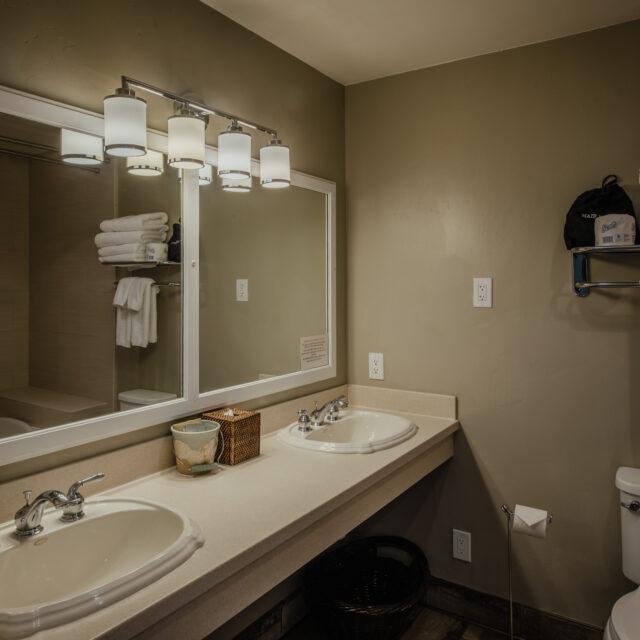 Room 3 Bathroom view