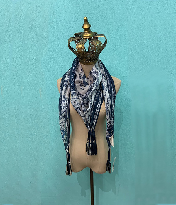 zinnia scarf