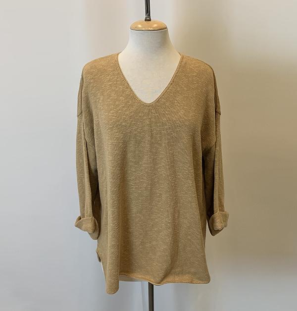 fav sweater camel