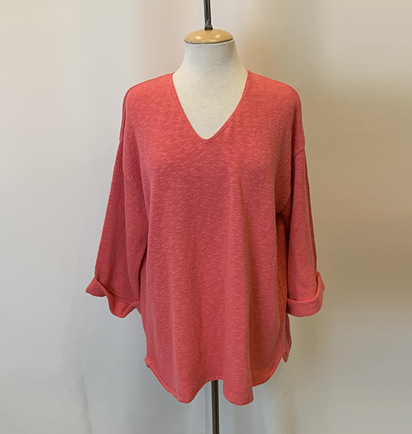 fav sweater coral