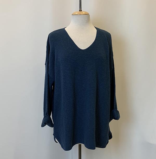 fav sweater indigo