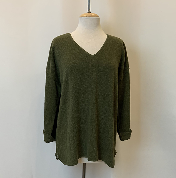 fav sweater olive