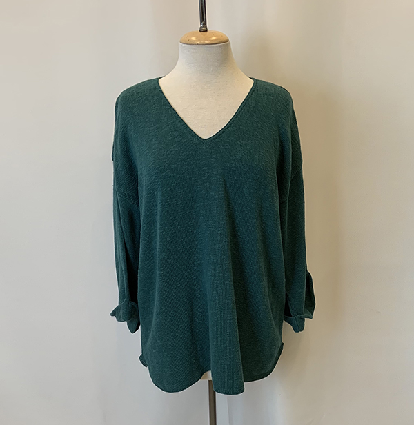 fav sweater peacock