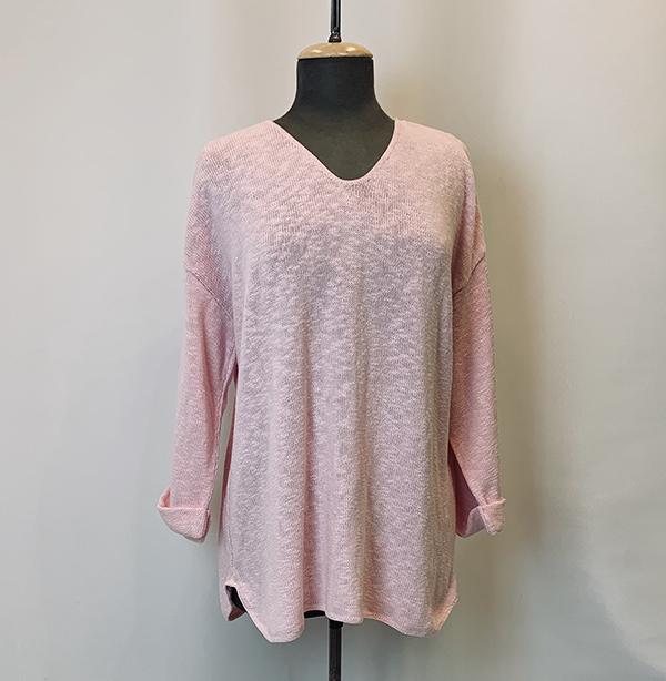 fav sweater pink