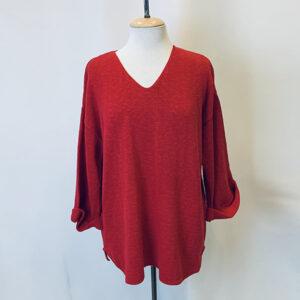 fav sweater red