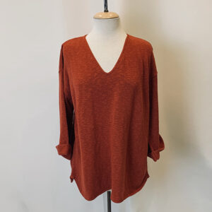 fav sweater terracotta