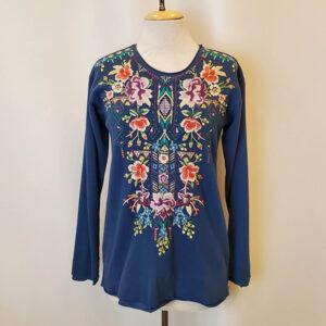 maiorca pullover blue